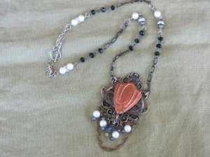 New line of my jewelry that has a vintage charm. Love the look of vintage jewelry.