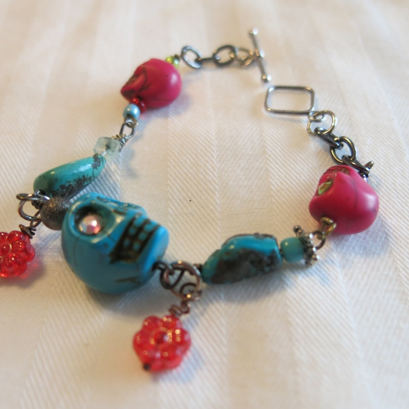 New Bracelet for  Día de Muertos