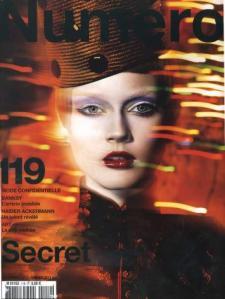 Dec.Jan 2011 Numero Cover